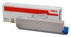 Original Oki Toner 44844507 Cyan