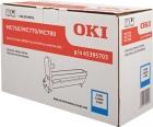 Original OKI Trommel 45395703 Cyan