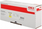Original Oki Toner 45396201 Gelb