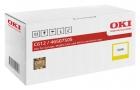 Original Oki Toner C612 / 46507505 Gelb