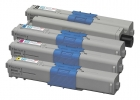 Original Toner Sparset OKI MC351DN MC561DN C310DN C510DN