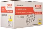 Original OKI Trommel C3200 42126662 Gelb