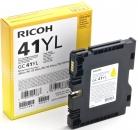 Original Ricoh Patronen GC 41YL 405768 Gelb / Yellow