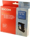 Original Ricoh Patronen GC-21C Cyan