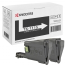 2x Original Kyocera Toner TK-1115 Schwarz Set