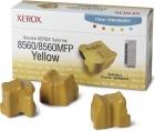 Original Xerox Festtinte 108R00725 3x Yellow / Gelb