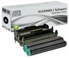Set 2x Alternativ OKI Toner 01103402 + 42102802 Trommel