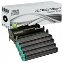 Set 4x Alternativ OKI Toner 01103402 + 42102802 Trommel