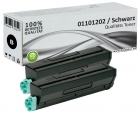 Set 2x Alternativ Toner OKI 1101202 XL Schwarz