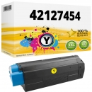 Alternativ OKI Toner C5250 C5450 C5510 C5540 Gelb