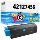 Alternativ OKI Toner C5250 C5450 C5510 C5540 Cyan