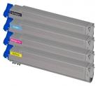 Alternativ OKI Toner C9600 C9650 C9800 C9850 Sparset