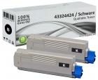 Alternativ OKI Toner C5550 C5800 C5900 Schwarz Doppelpack