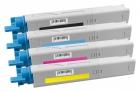 Set Alternativ OKI Toner C3300 C3400 C3450 C3600