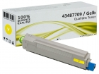 Alternativ OKI Toner C8600 C8800 Gelb