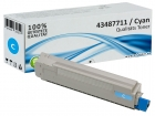Alternativ OKI Toner C8600 C8800 Cyan