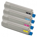 Alternativ OKI Toner 4348771X Sparset