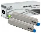 Alternativ Toner OKI C8600 C8800 Schwarz Doppelpack