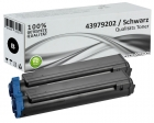 Set 2x Alternativ OKI Toner 43979202 Schwarz