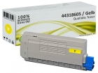 Alternativ OKI Toner 44318605 Yellow/Gelb