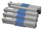 Alternativ OKI Toner 4497353X Sparset