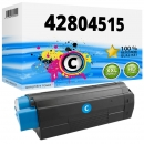 Alternativ OKI Toner C3100 42804515 Cyan