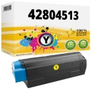 Alternativ OKI Toner C3100 42804513 Gelb