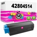 Alternativ OKI Toner C3100 42804514 Magenta