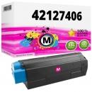 Alternativ OKI Toner C5100 C5200 C5300 C5400 Magenta