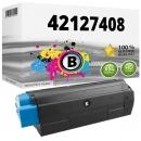 Alternativ OKI Toner C5100 C5200 C5300 C5400 Schwarz