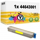 Alternativ OKI Toner 44643001 Gelb