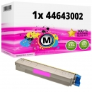 Alternativ OKI Toner 44643002 Magenta