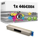 Alternativ OKI Toner 44643004 Schwarz
