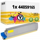 Alternativ Oki Toner 44059165 Gelb