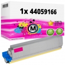 Alternativ Oki Toner 44059166 Magenta