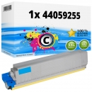 Alternativ Oki Toner 44059255 Cyan