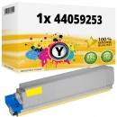 Alternativ Oki Toner 44059253 Gelb