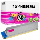 Alternativ Oki Toner 44059254 Magenta