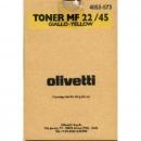 Original Olivetti Toner B0481 Yellow / Gelb