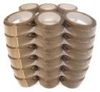 PP Packband Klebeband 66 m x 50 mm - leise abrollend - 36 Stück
