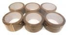 PP Packband Klebeband 66 m x 50 mm - leise abrollend - 6 Stück