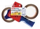 Tesa Packbandabroller mit Bremse inkl. 2x Packband