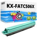 Alternativ Panasonic Toner KX-FATC506X Cyan