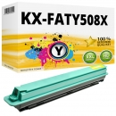 Alternativ Panasonic Toner KX-FATY508X Yellow