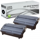 Set 2x Alternativ Panasonic Toner UG-3313 Schwarz