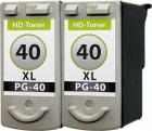 Set Patronen Canon 2x PG-40 XL Refill