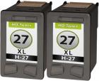 Set 2x Alternativ HP Patronen 27