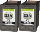 Alternativ Patronen Set HP 2x 338