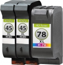 Set Alternativ  Patronen 2x HP 45 51645ae + 78 C6578AE