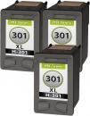 Alternativ Set Druckerpatronen HP 301 301xl  3x Schwarz